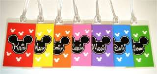 DISNEY Personalized MICKEY MOUSE Luggage Tag $3.00/each