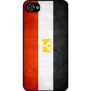Rikki KnightTM Egypt Flag Black Hard Case Cover for Apple