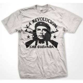 Che Guevara Mens T shirt, El Che Rifles Design Mens Shirt
