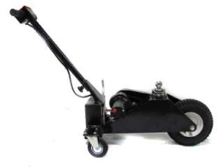 Trailer mover plans 12v electric power dolly caster for Motorized boat trailer mover