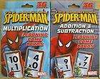 Spider Man Learning Game Cards Lot of 2 (BRAND NEW)