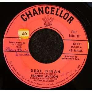 Dede Dinah / Ooh la la Frankie Avalon Music