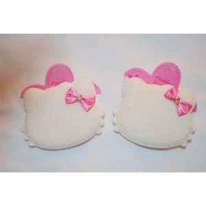 Cream, Hello Kitty Barette Set, Hair Accessory for Girls