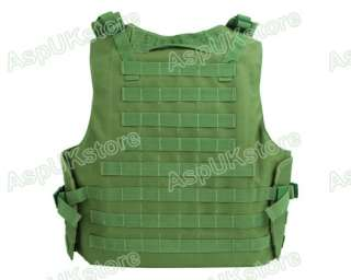 Airsoft Molle Tactical FSBE Style Carrier Vest OD AG
