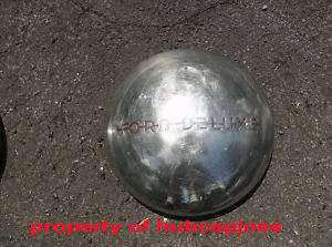 1950 1951 1952 FORD DELUXE PICKUP TRUCK DOG DISH HUBCAP