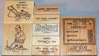 Single Sets, U Pick,Happy Birthday, Fathers Day And Many Mower