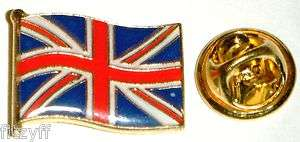 Union Jack Flag Enamel Lapel Pin Badge   Great Britain