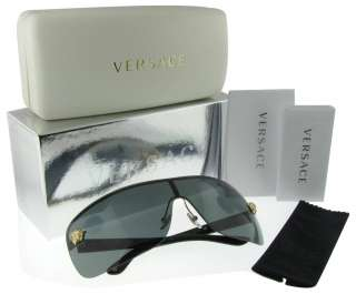 VERSACE VE 2119 1002/87 GOLD/BLACK DESIGNER SUNGLASSES 725125718950