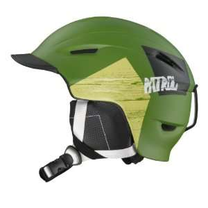 Salomon Junior Patrol Ski Helmet (Green Matt, Small Medium