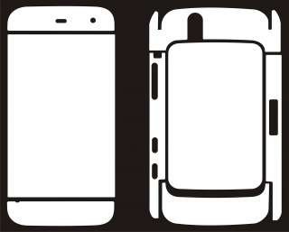 2Pk Dell Streak Mini 5 FULL BODY Screen Protector Case