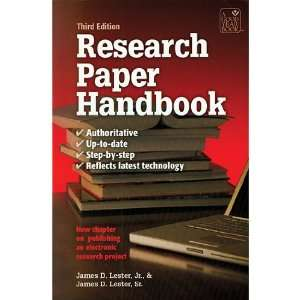 Research Paper Handbook 3Rd Edition: Office Products