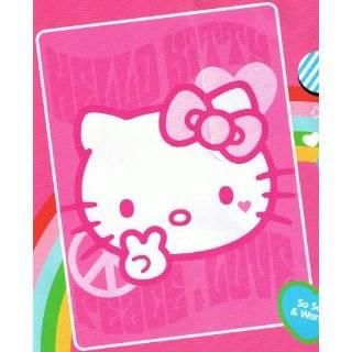Sanrio Hello Kitty Blanket Twin Size 60 X 80 Mink Raschel Plush