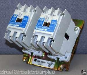 Cutler Hammer CN35DN4 4 Pole 30 Amp Lighting Contactor