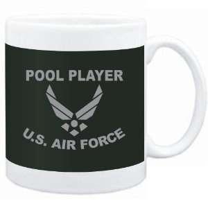 Mug Dark Green  Pool Player   U.S. AIR FORCE  Sports