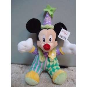 Disney Mickey Mouse Plush 10 Says Happy Birthday on Hat