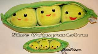 Exclusive Toy Story 3 Peas In A Pod Large Plush Bean Bag 5 Pea