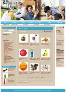 Money making Pet Supplies  affiliate Website for Sale