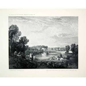 1903 Print Alexander Pope Villa Twickenham England Mallord