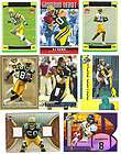 Aaron Rodgers Greg Jennings Jordy Nelson AJ Hawk ROOKIE LOT GU