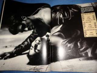French Max 11/1992 Amber Smith Val Kilmer Geena Davis Renzo Rosso