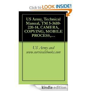 , Technical Manual, TM 5 3610 220 14, CAMERA, COPYING, MOBILE PROCESS