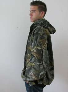 NEW CARHARTT TALL MANS REAL TREE HUNTING CAMOUFLAGE HOODED JACKET