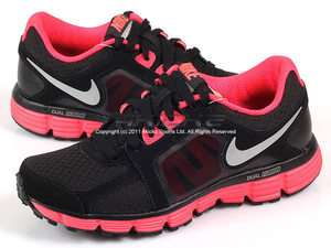 Nike Wmns Dual Fusion ST 2 Black/Solar Red Running 2011