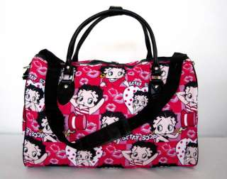 20Duffel/Tote Bag Luggage Purse Travel Pink Betty Boop