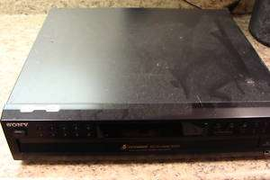 Sony 5 Disc Cd Changer / Player CDP CE375
