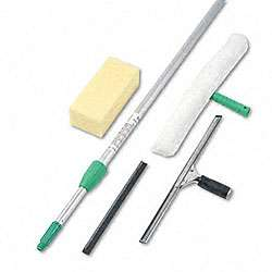 Pro Window Cleaning Kit with 8 ft Pole