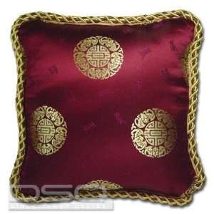 20 Silk Embroidery Cushion Pillow Cover   Ancient Design