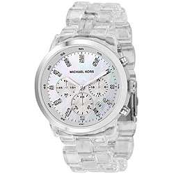 Michael Kors Womens MK5235 Acrylic Strap Watch