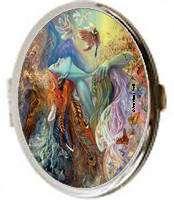 Spirit of Flight Fairy Josephine Wall Fantasy Art Compact Mirror