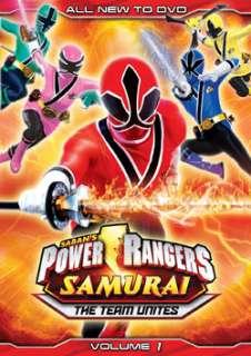 Power Rangers Samurai The Team Unites Volume One (DVD)