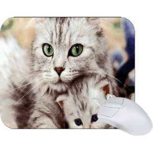 Rikki Knight Loving Tabby Cats design Mouse Pad Mousepad