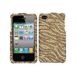 Premium Apple iPhone 4/ 4S Tiger Rhinestone Case