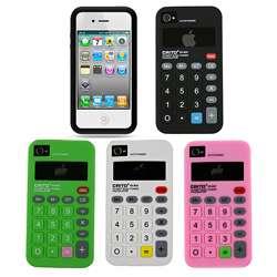 Premium Apple iPhone 4 Calculator Silicone Case