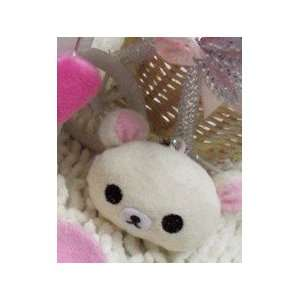 Cute Rilakkuma Bear Face Cell Phone Charms/Phone Chain/Phone Strap for