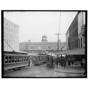 Pennsylvania Railroad ferries,Market Street,Philadelphia,Pa