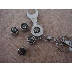 Wheel Tire Valve Stem Caps for Acura Car Tl Rl NSX RDX MDX ZDX TSX TSX