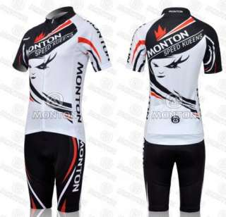 2012 Cycling Bicycle bike outdoor Jersey + Bib Shorts size S   XL For