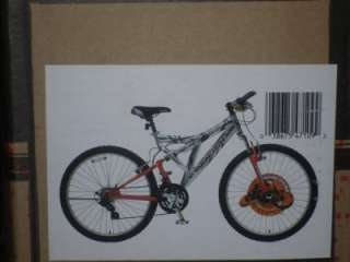 Mongoose R4710 Domain Dual Suspension Mountain Bike 26