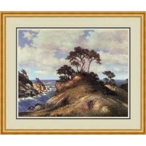 Coast of Monterey by Robert Wood   Framed Artwork
