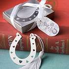 200 Horseshoe Bookmark Lucky In Love Wedding Favors Bulk Lot