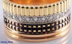 BOUCHERON 18K Gold & Diamonds Ring