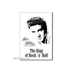 Elvis King Magnet