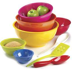 ZAK Colorways 9 piece Mixing Bowl Set