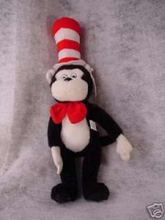 BEAUTIFUL CAT IN HAT TOY BY SOFT THINGS NY ~ DR SEUSS CAT IN HAT