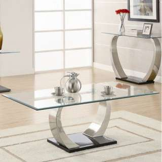 Wildon Home Abbot Coffee Table in Black Furniture
