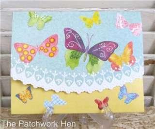 Carol Wilson Bright Butterflies Blank Note Card Set 095372724098